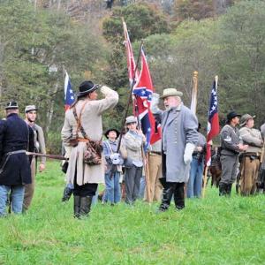 Battle Wildcat Mountain Civil War Reenactment