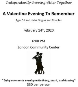 A Valentine Evening to Remember @ London Community Center