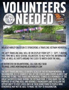 Traveling Vietnam Memorial @ Wildcat Harley Davidson