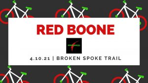 Red Boone Mountain Bike Race @ Broken Spoke Mountain Bike Trail