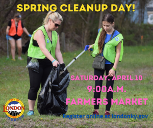 Spring Clean Up Day @ London-Laurel County Farmer's Market