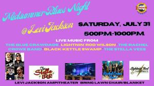 Midsummer Blues Night at Levi Jackson State Park @ Levi Jackson State Park