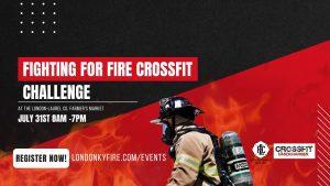 Fighting for Fire Challenge @ London Laurel Farmer's Market